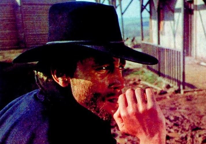 Franco Nero dans Django  de Sergio Corbucci