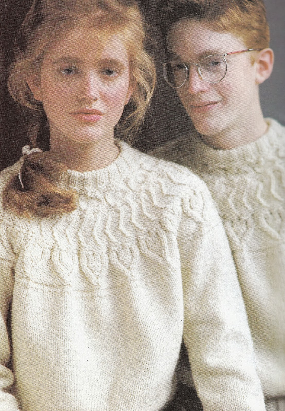 The knitting needle and the damage done out of ireland this is the aran sweater with rounded yoke and its a vintage vogue knitting pattern that dates from 1957 ive made this one twice myself once for one of bankloansurffo Gallery