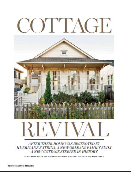Karinau0027s Katrina Cottage Featured In Southern Living