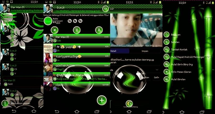 BBM Mod Android Messenger V10 (New Update)