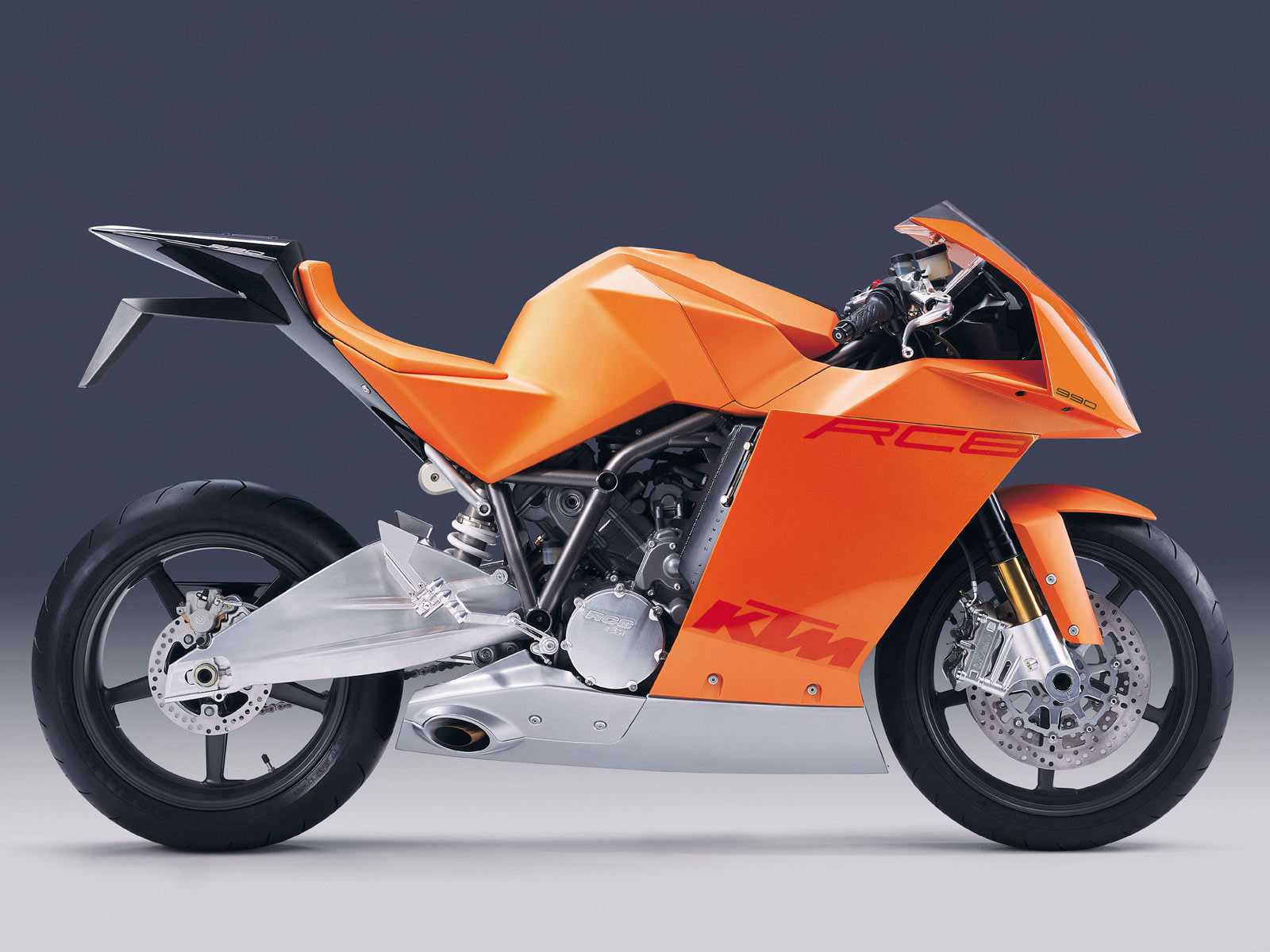 KTM Motorcycle Concept wallpaper background