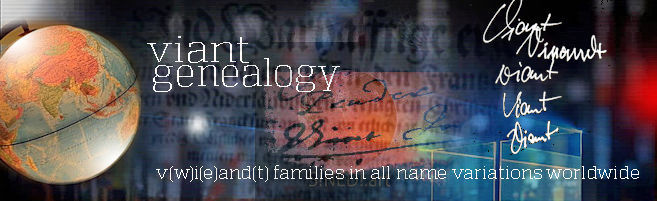 VIANT FAMILY GENEALOGY BLOG