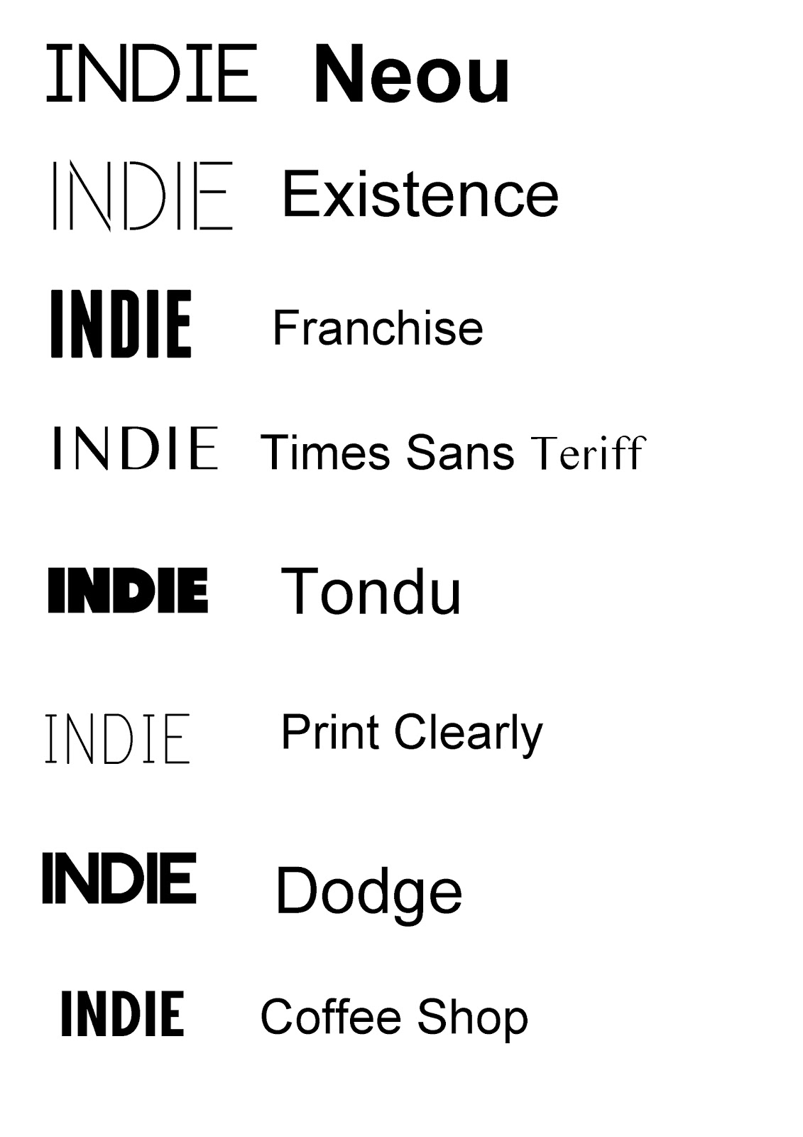 possible magazine fonts