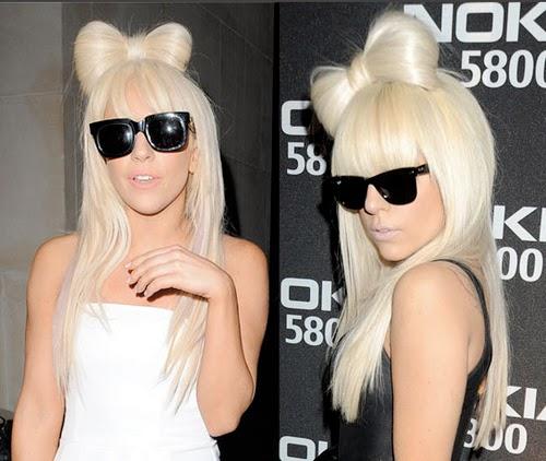 Como fazer o laço da Lady Gaga, Laço cabelo, Laço cabelo Lady Gaga, Lady Gaga Cabelo, Laço Cabelo Gaga, Hair bow, Hair bow Lady Gaga,