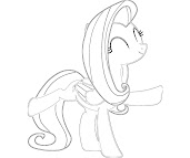 #11 Fluttershy Coloring Page