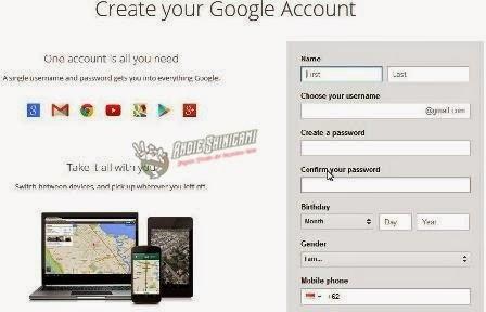 Cara Baru Daftar Alamat Email Google