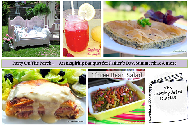 Party On The Porch: Fresh Food & Inspiring Ideas for Father's Day, Summertime, & more