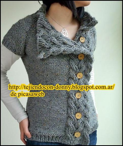 Tejidos a dos agujas tricot patrones graficos todo gratis - Tejado a dos aguas ...