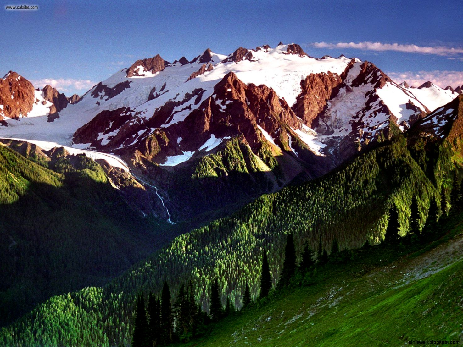 Mount Olympus Olympic National Park