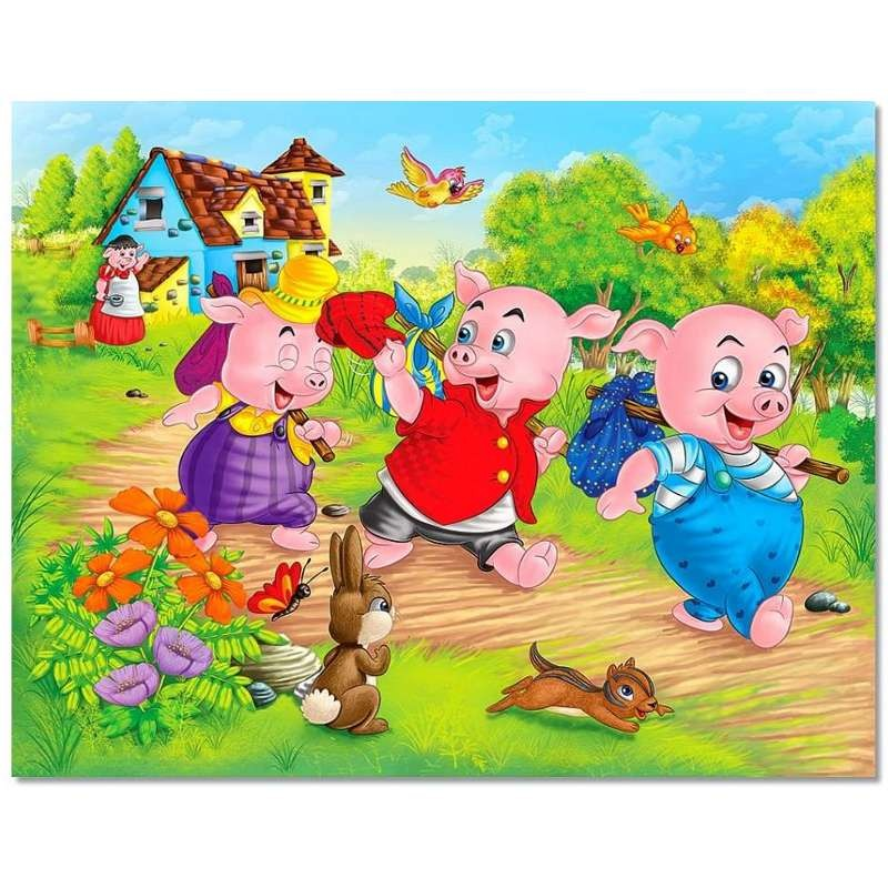 The Three Little Pigs Storyline - ThingLink