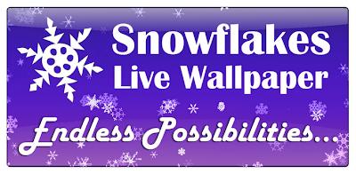 Snowflakes Live Wallpaper v1.77