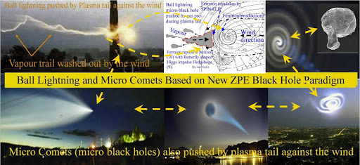 Examples of NEW PARADIGM Splitting and Pairing Accelerated MASSLESS (Micro) Black Holes.