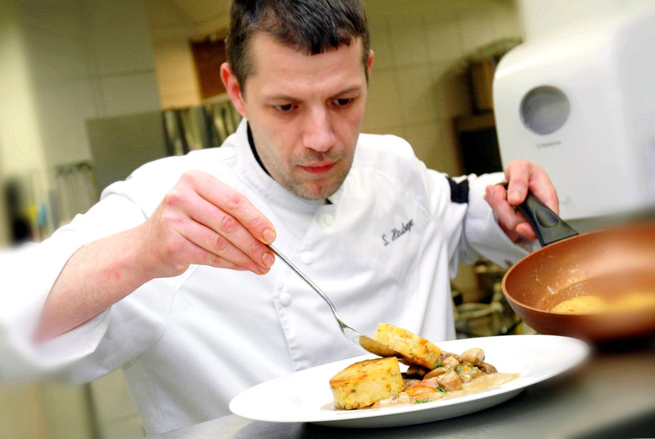 Sascha Hinsberger ist neuer Küchenchef im Hotel Fürstenhof in Bad Kreuznach.