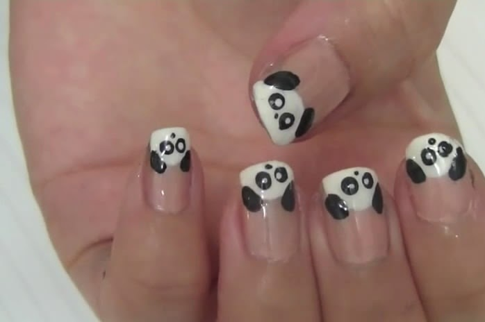 Panda New Nails Arts Style