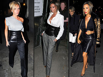 victoria beckham leather