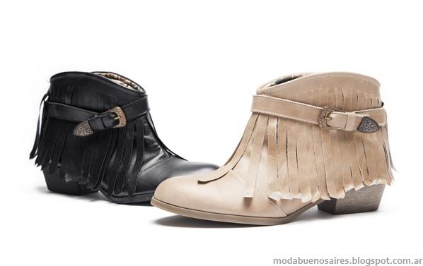Moda botas de mujer invierno 2013