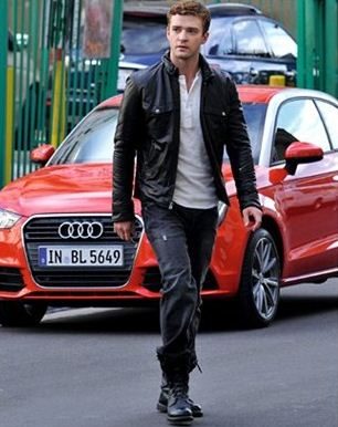 Justin Timberlake Audi A1 The Stars And Their Cars