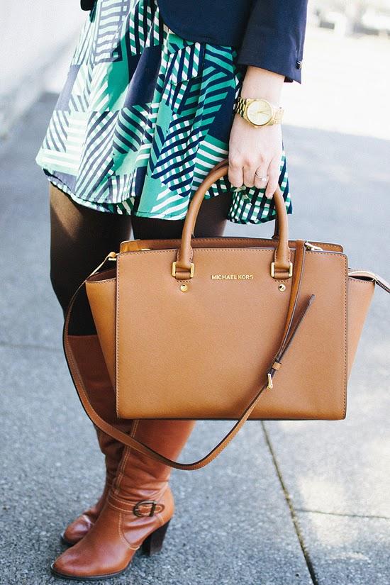 Here & Now: Michael Kors selma purse #teacherstyle