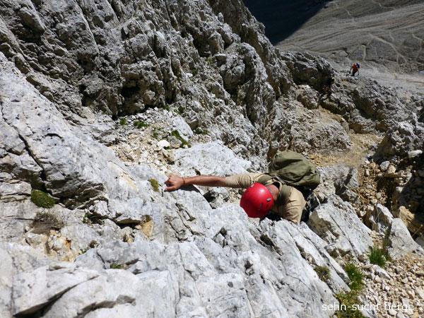 Klettersteig Plattkofel : Sehn sucht berge oskar schuster steig und plattkofel m