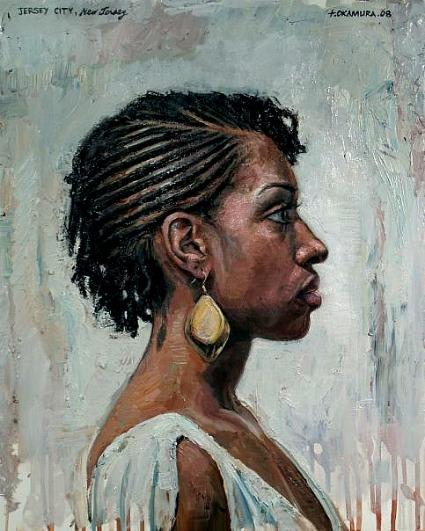 afro art Tim Okamura