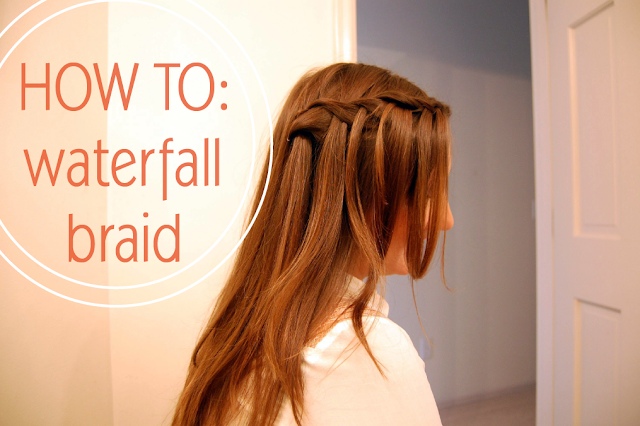 Just B: B Woven: How-to waterfall braid