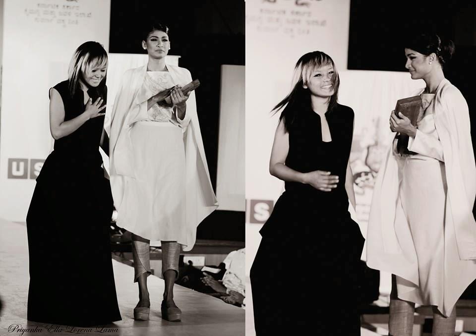Indian Gorkha Fashion Designer Priyanka Ella Lorena Lama from Darjeeling