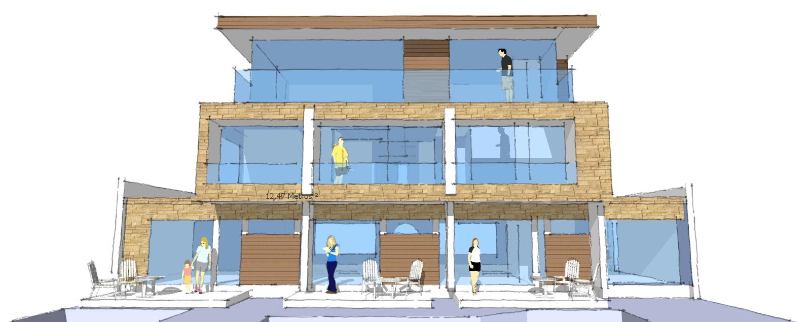 casacien arquitectura casa hostal mukarker