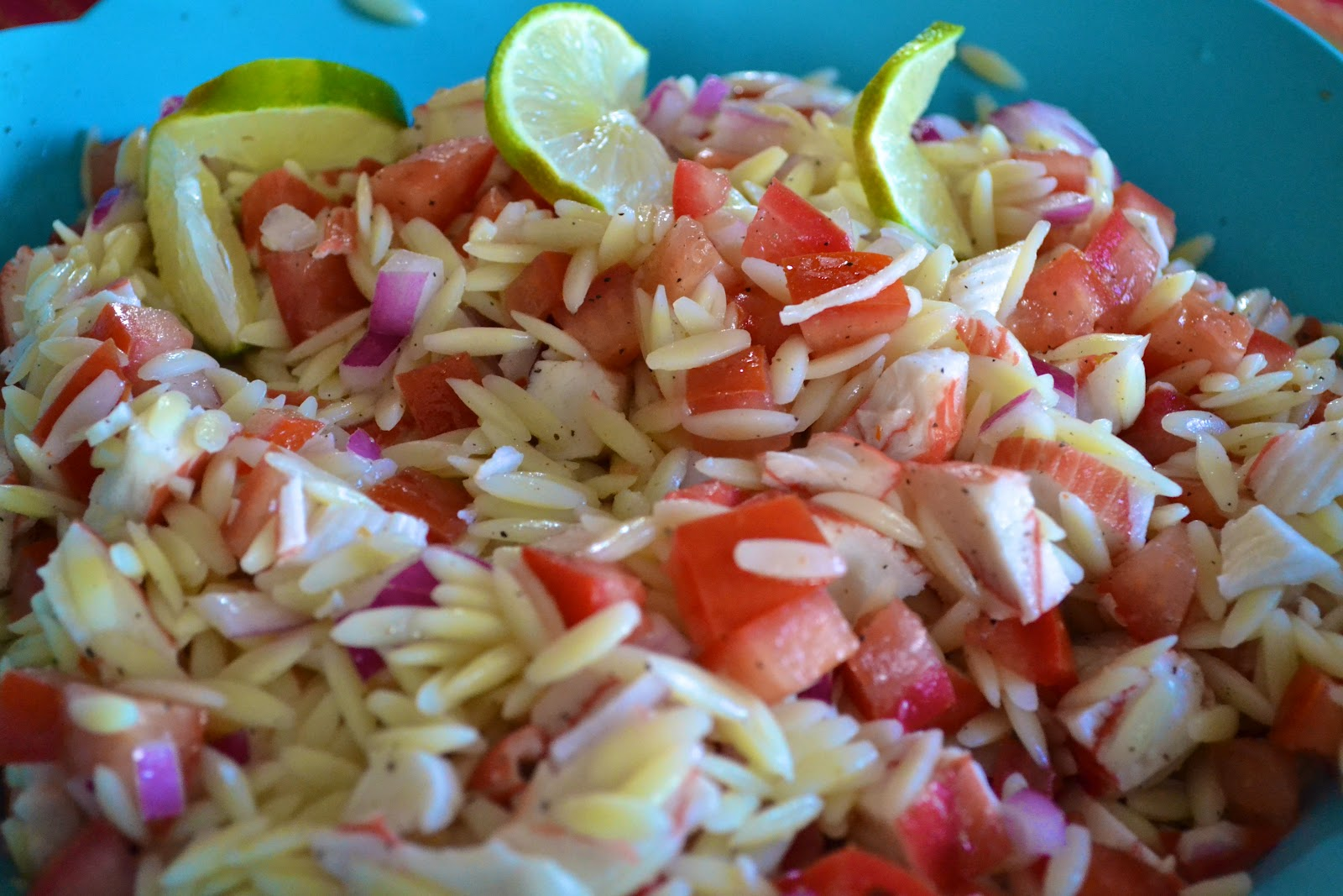 "Point-less"" Meals: Orzo Crab Salad"