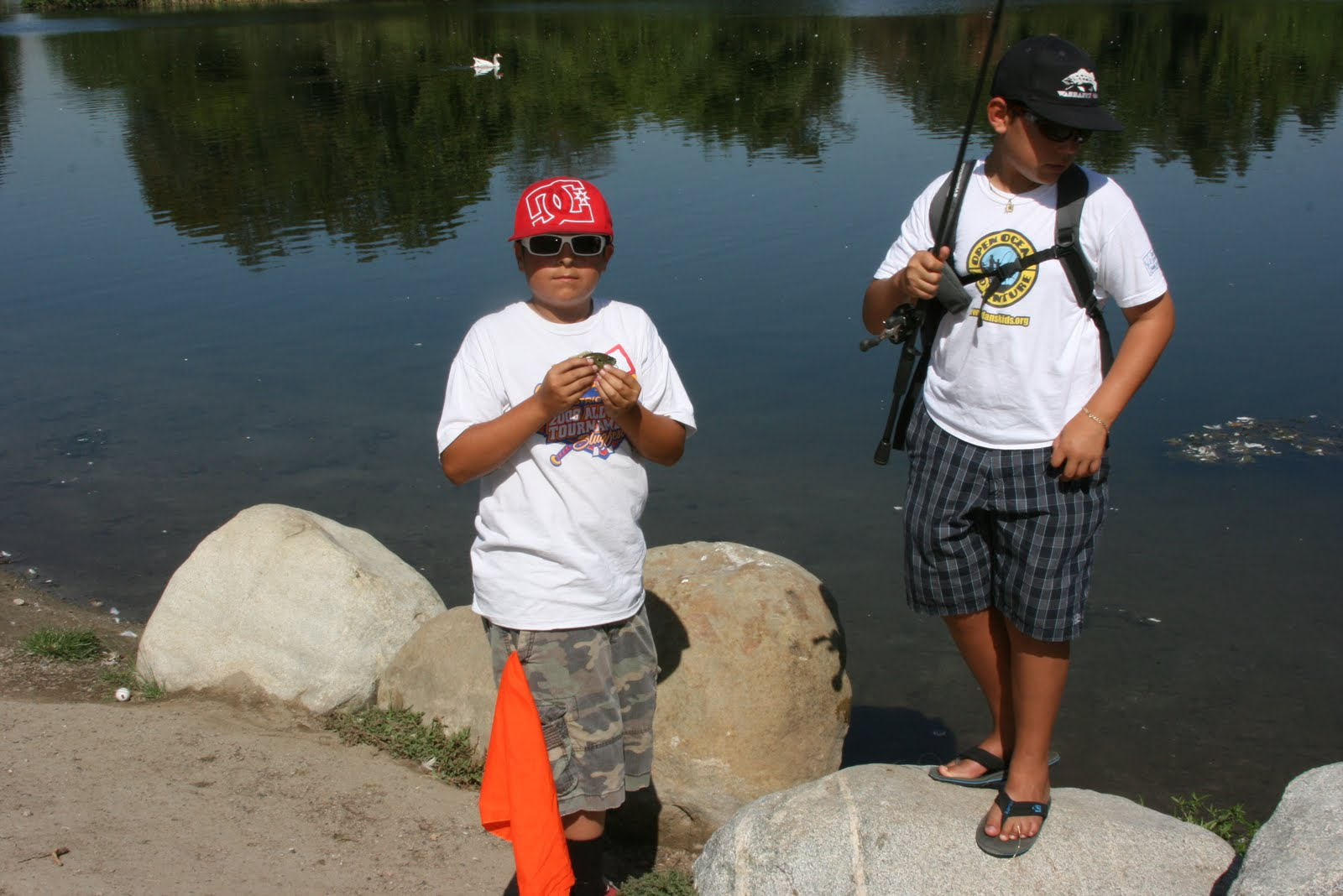 Dan 39 s journal daniel hernandez youth foundation kids for Sport fishing with dan hernandez