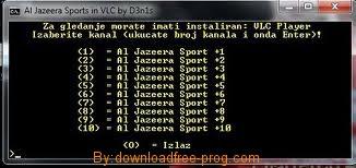 تحميل برنامج Aljazeera Sport لمشاهدة القنوات المشفرة