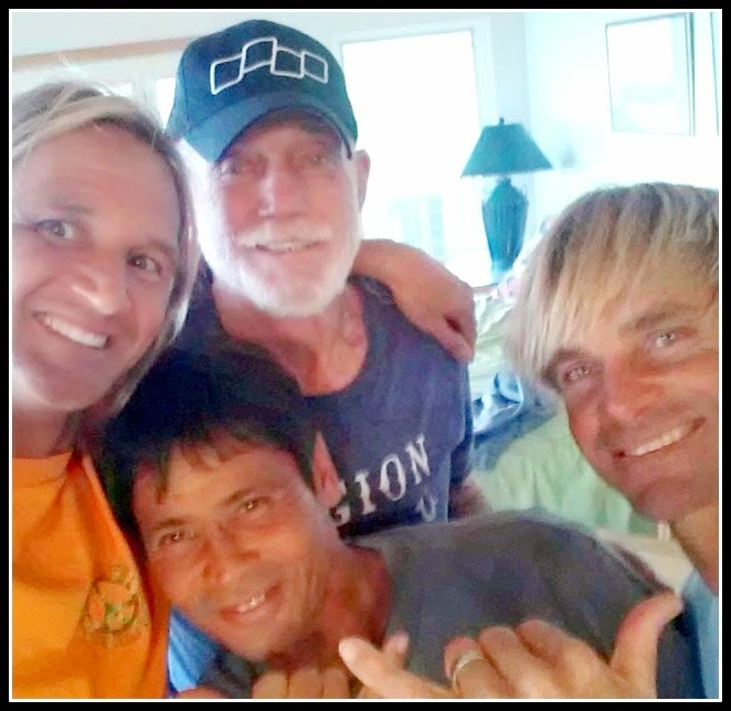 Hanging with Don Wildman & Laird Hamilton