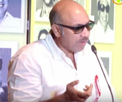 Let us Give Way to Youngsters Says Sathyaraj