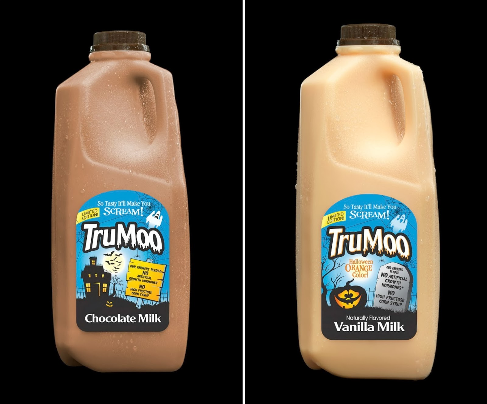 Thanks, Mail Carrier | TruMoo Limited Edition Halloween Milks ...