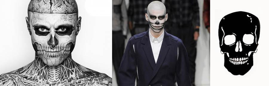 STOP CAVEIRISMO_zombie boy_tatuagem de caveira_alexandre hercovitch_maquiagem de caveira_caveirismo