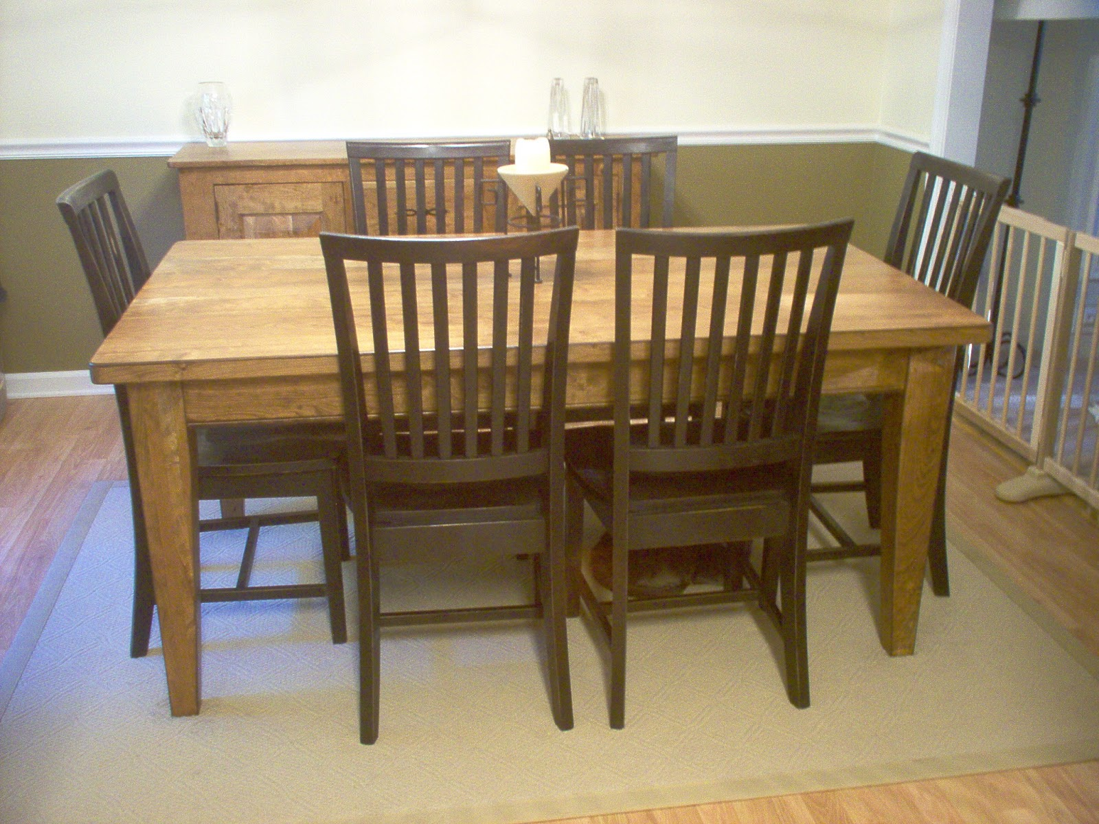 nature's pine: furniture lingo: standard dining tables