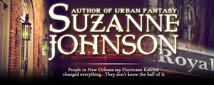 Urban Fantasy Author Suzanne Johnson