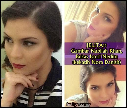 16 Gambar Nabilah Khan, Bekas Isteri Nedim Semakin Cantik, gambar terkini bekas isteri nedim, info,