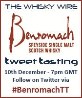 Benromach Tweet Tasting