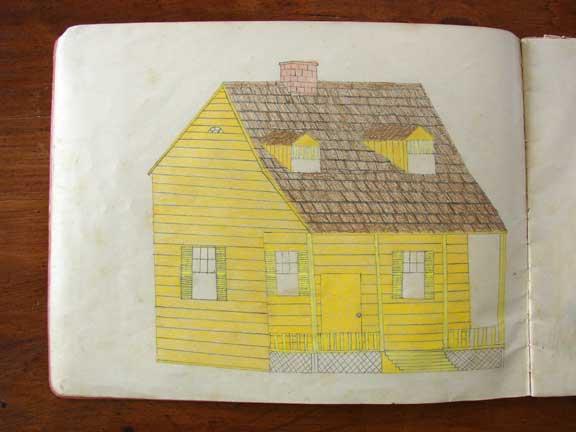 vintage drawings