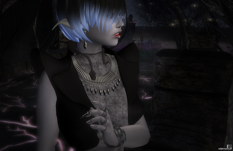 Second Life Event, World Goth Fair, Review of Sim and Role-play Virtual Fashion