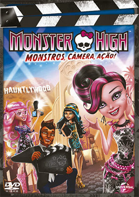 Monster High: Monstros, Câmera, Ação   Dublado RMVB + DVDRip AVI (2014)