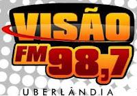 Rádio Visão FM da Cidade de Uberlândia ao vivo
