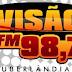 Rádio: Ouvir a Rádio Visão FM 98,7 da Cidade de Uberlândia - Online ao Vivo