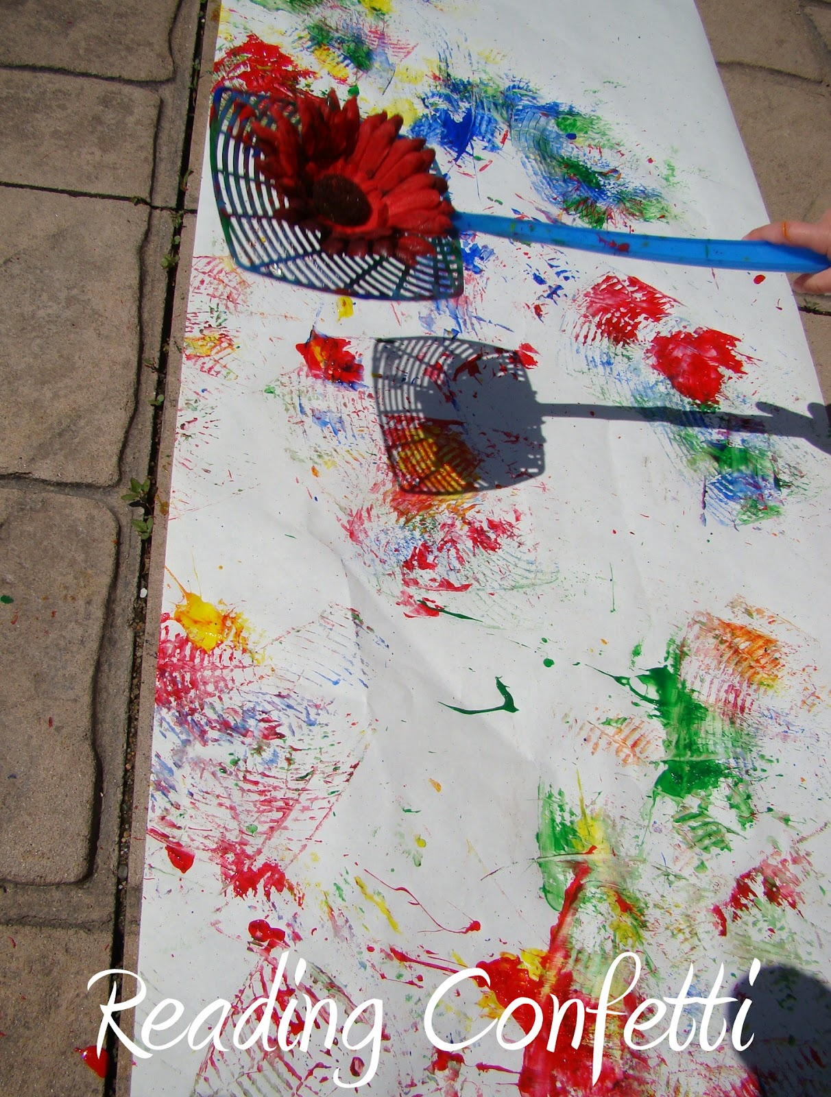 15 Outdoor Art Activities Kids Co Op Reading Confetti