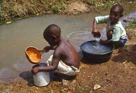 Your life can be someones dream - Poor child looking for clean drinking water