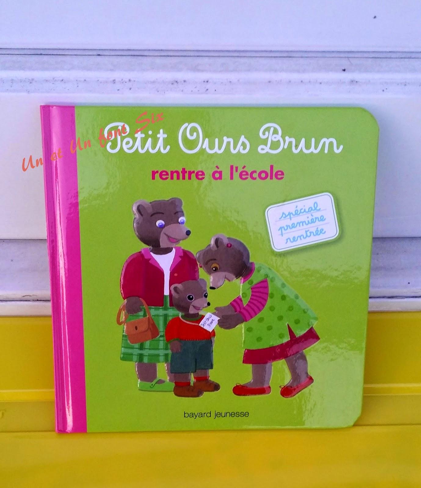 Un et un font six chut les enfants lisent 9 petit - Petit ours brun va al ecole ...