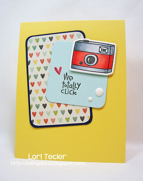 We Totally Click-designed by Lori Tecler/Inking Aloud-stamps and dies from Paper Smooches