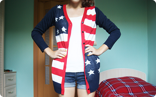 вещи с американским флагом