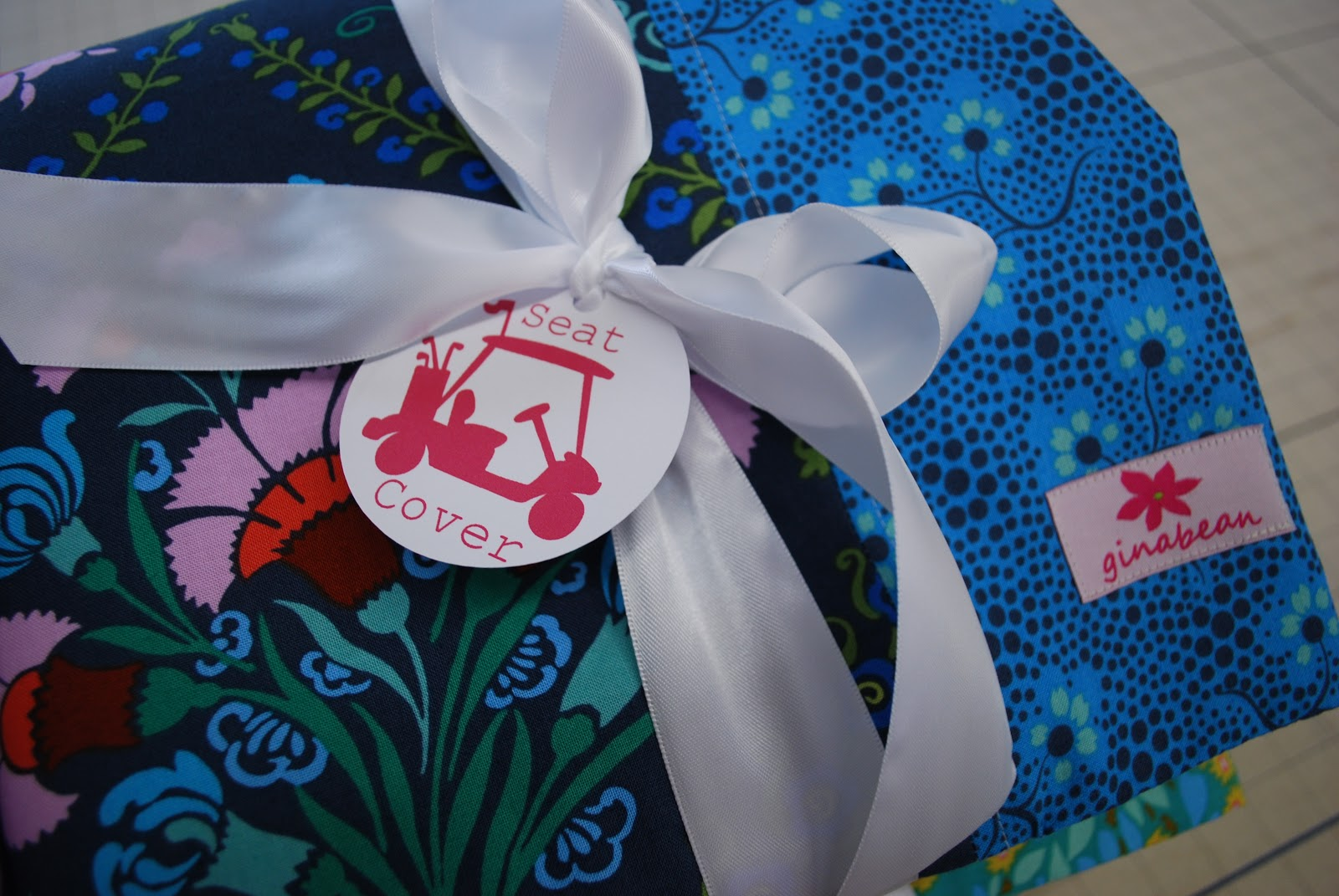 Ginabean takes miami ginabeanquilts a while back i starting making pretty golf cart seat covers for my mom and her lady friends jeuxipadfo Choice Image