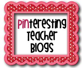 , PINteresting Teacher Blogs!